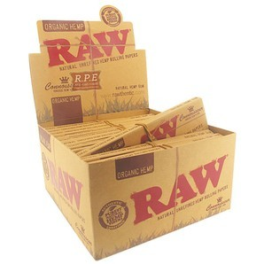 Raw Organic Connoisseur Kingsize Slim Papers With Tips