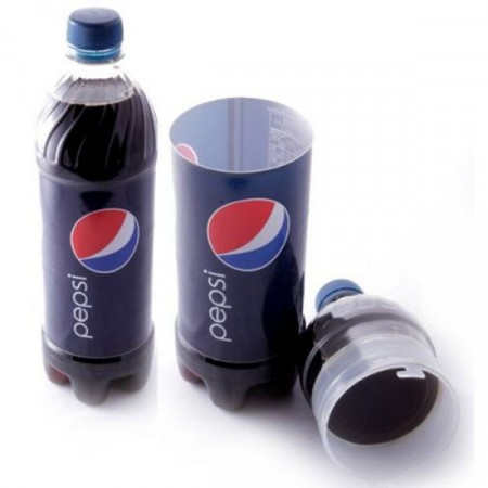 Pepsi bottle stash