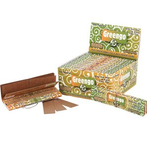 GREENGO 2 in 1 Kingsize Slim Rolling Papers & Filter Tips