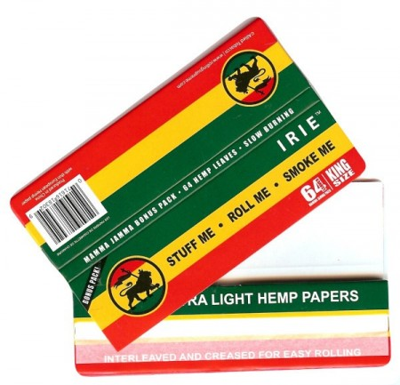 Irie Extra Light Kingsize Hemp Rolling Papers