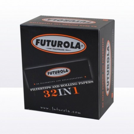 Futurola king-size Slim papers with tips BR