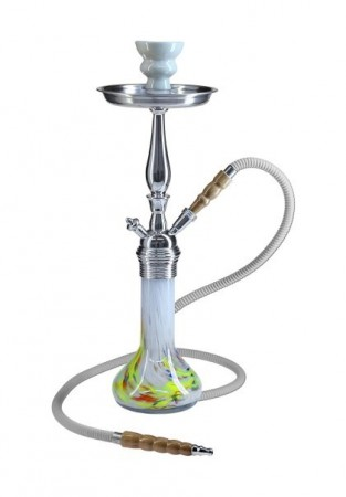 Shisha, Stainless Steal Body, multi-coloured