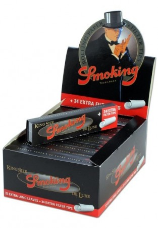 Smoking King Size Deluxe Papers & Tips
