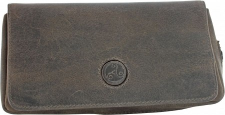 BARLEY Rattrays Leather products Combi Pouch for 1 pipe