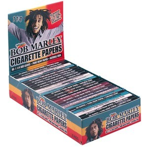 Bob Marley Hemp Regular 125 Smoking Papers