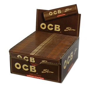 OCB Kingsize Slim Virgin Rolling Papers