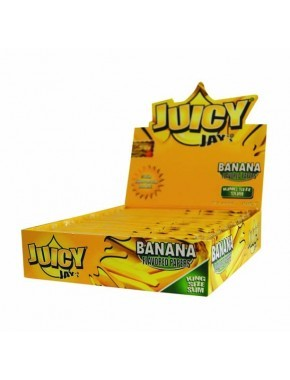 Juicy Jays Banana Flavour Kingsize Slim Rolling Papers