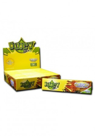 Juicy Jays Pineapple Flavour Kingsize Slim Rolling Papers