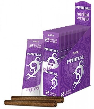 Primal Herbal Wraps Sage 100% nicotine free