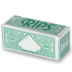 Green Rips Rolling Papers - 44mm Wide