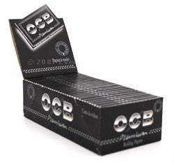 OCB Premium Regular Rolling Papers Double Packet