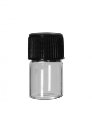 Screw Cap Glass clear 1,0ml