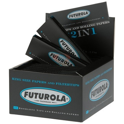 Futurola king-size papers with tips BL