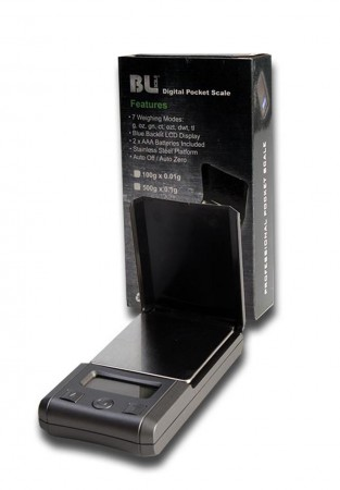 BLscale Digital Scale grey 0.1-500g