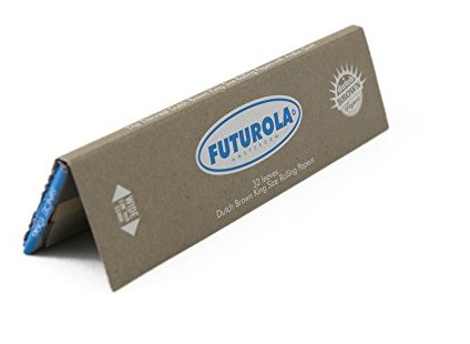 Futurola Brown Paper King Size 53mm