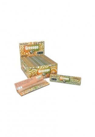 GREENGO Natural Unbleached King Slim Smoking Papers